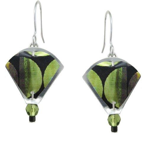 Singerman and Post Green Juice Mini Earrings