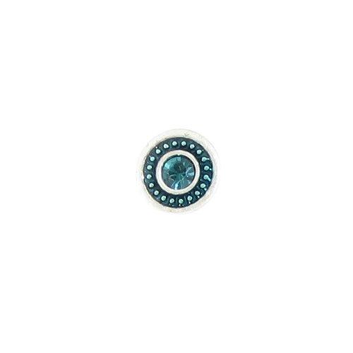 Baked Beads Braided Enamel Post Earrings