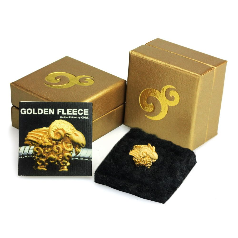 Ohm Beads Golden Fleece April 2017 BOTM