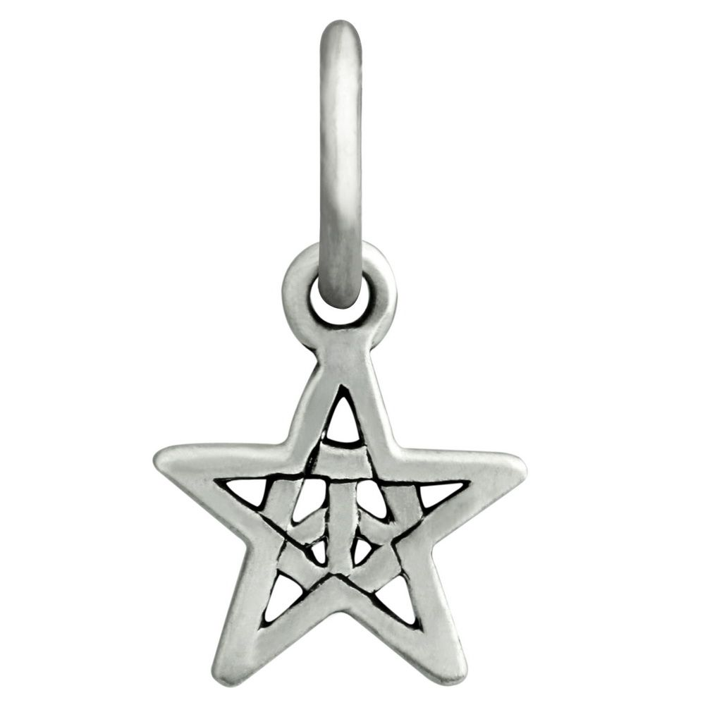 Ohm Beads Woodstock Star Charm