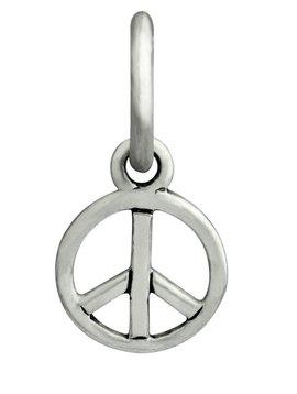 Ohm Beads Woodstock Peace Charm