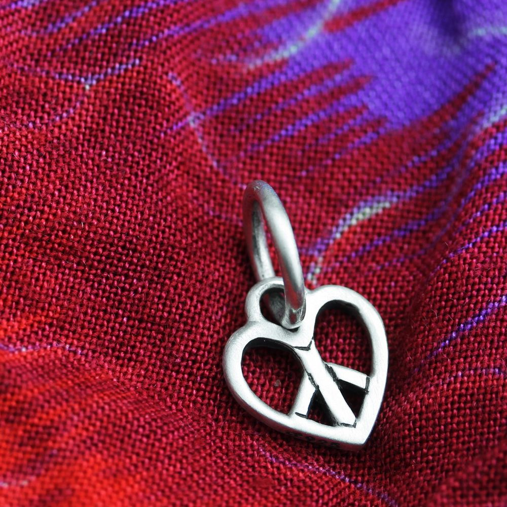 Ohm Beads Woodstock Love Charm