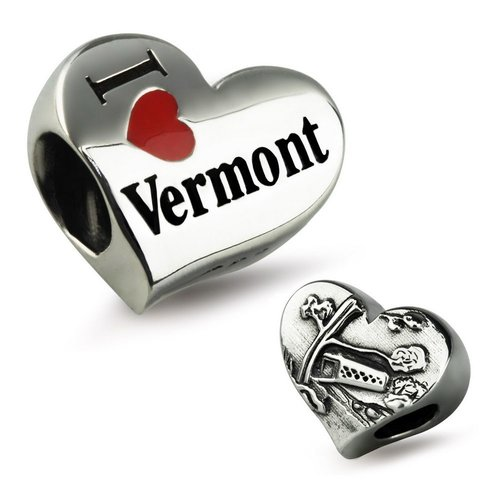 Ohm Beads I Heart Vermont RETIRED