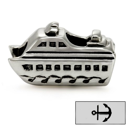 Ohm Beads Collector's Item Maine Cruise Ship Bead