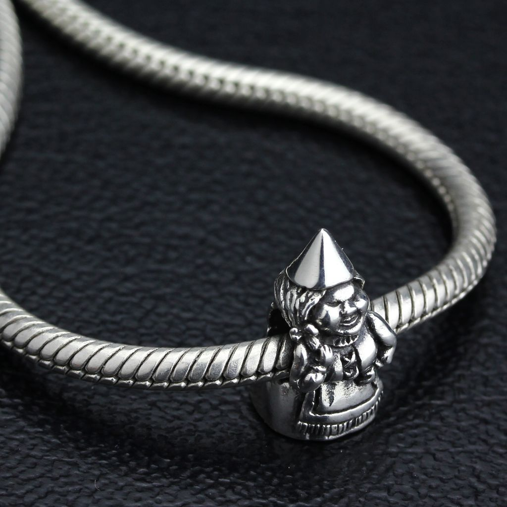 Ohm Beads Aunt Gnome Sterling Silver Bead