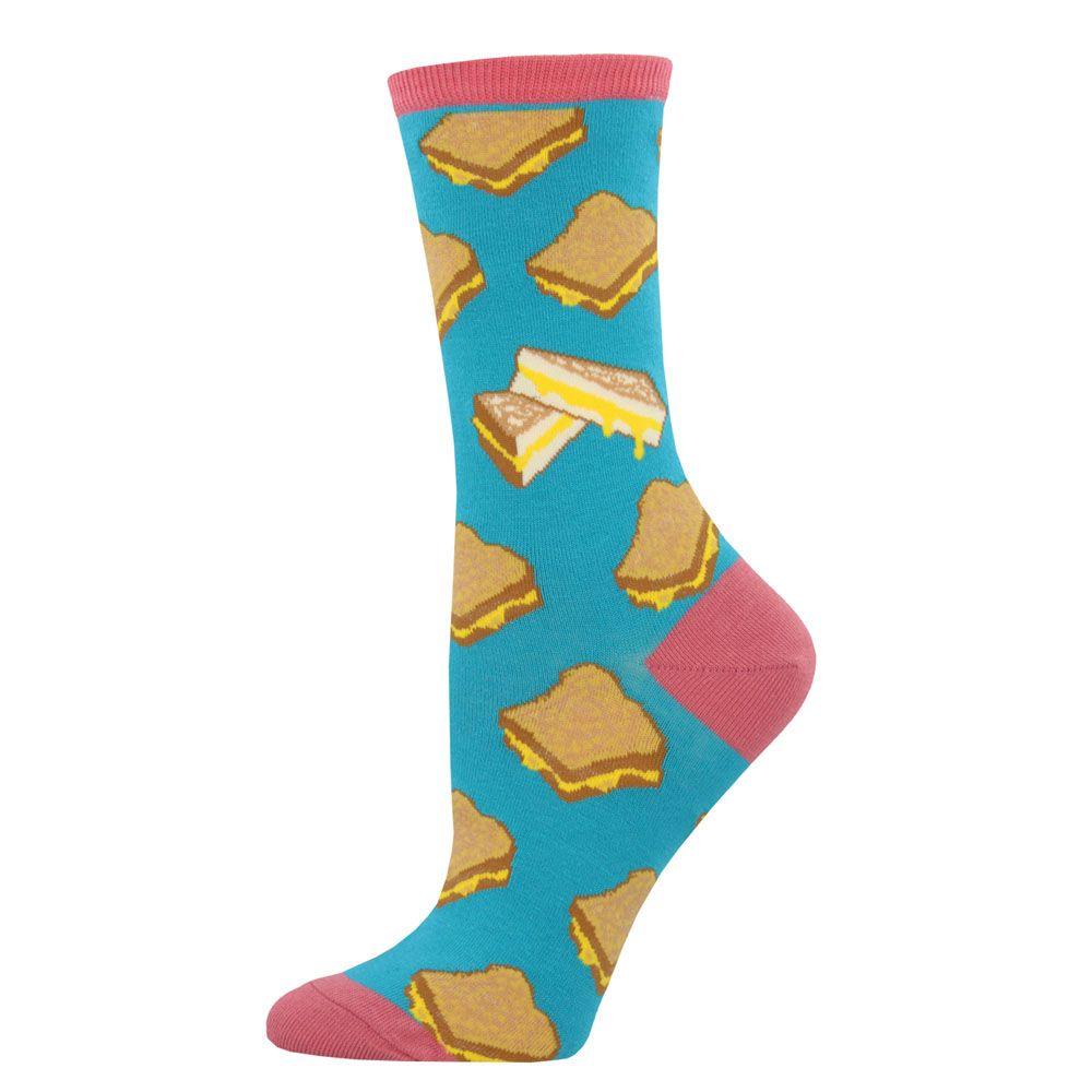 Socksmith Grilled Cheese Socks