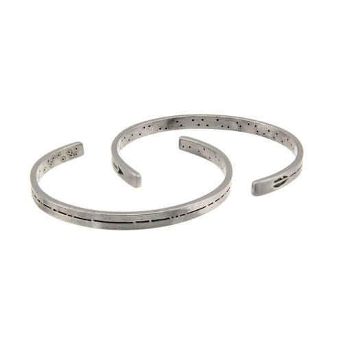 Whitney Howard Men's Pewter Cuff Bracelet