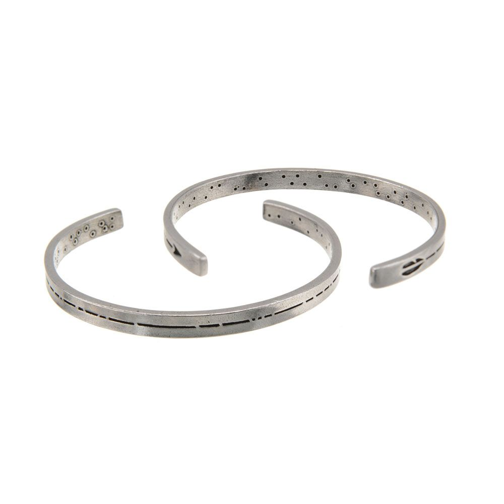 Whitney Howard Men S Pewter Cuff Bracelet