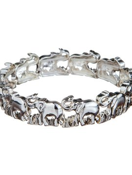 Luck Elephants Stretch Bracelet