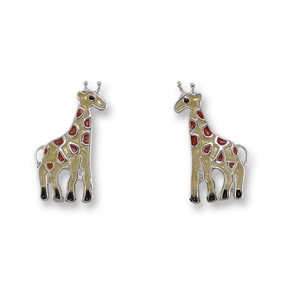 Zarah Giraffe Post Earrings