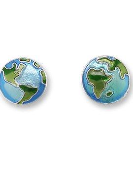 Zarah Earth Post Earrings