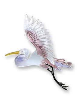 Zarah Flying Egret Earrings