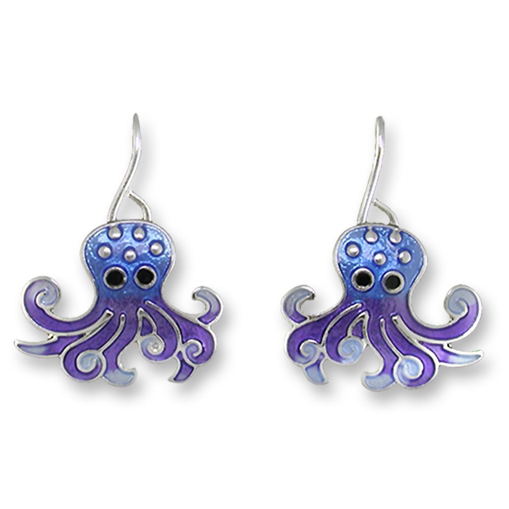 Zarah Wiggly Octopus Earrings