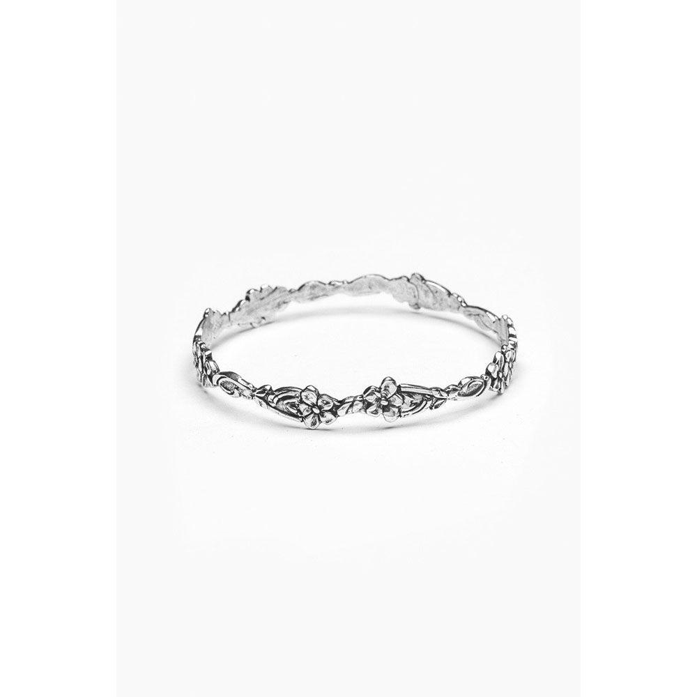 Silver Spoon Abigail Bangle Bracelet
