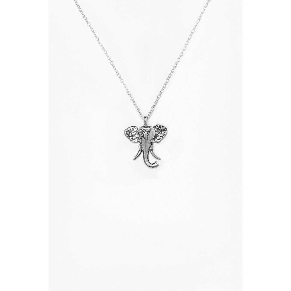 Silver Spoon Petite Elephant Necklace