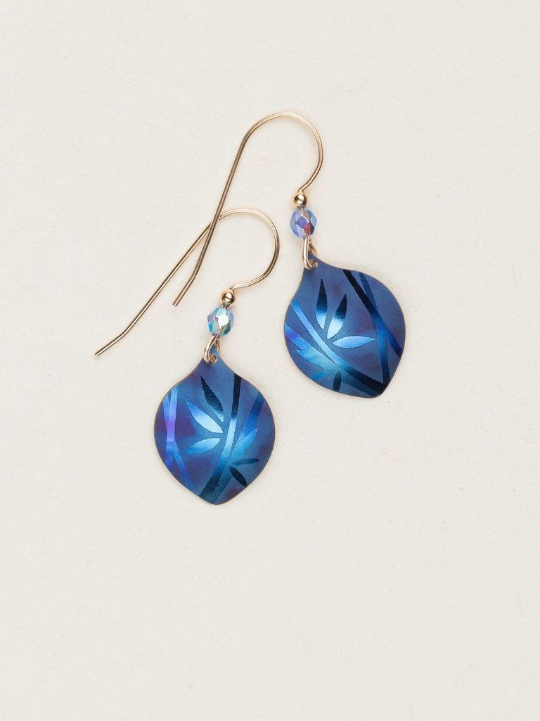Holly Yashi Blue Arietta Earrings