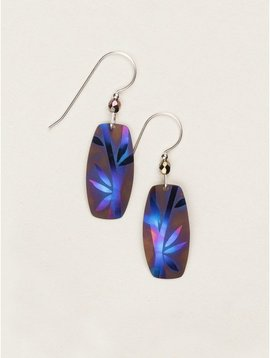 Holly Yashi Brown/Blue Amble Earrings