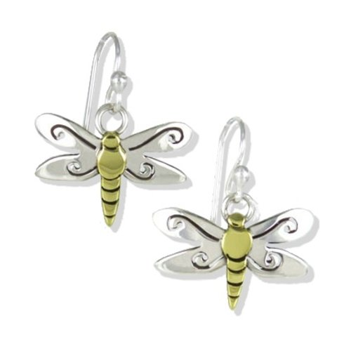 Dragonfly Wire Earrings