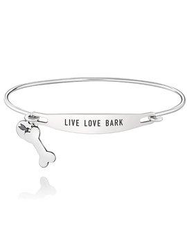 Chamilia ID Bangle - Live Love Bark