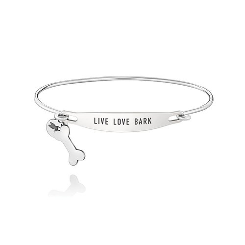 Chamilia ID Bangle - Live Love Bark