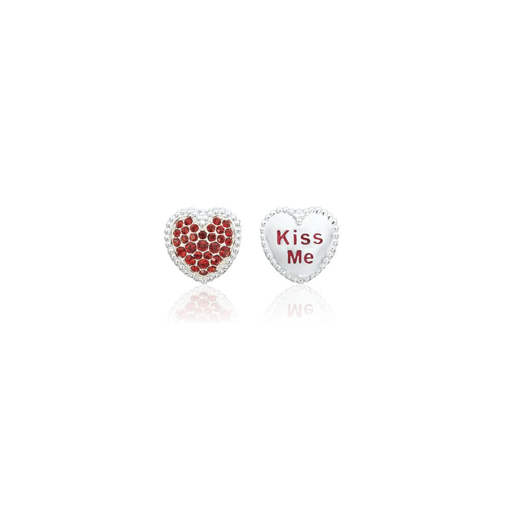 Chamilia Kiss Me Heart Bead