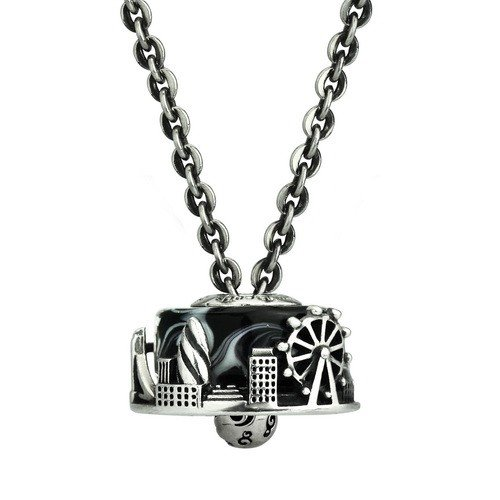 "Ohm Beads Ohm Ball Necklace 28"""