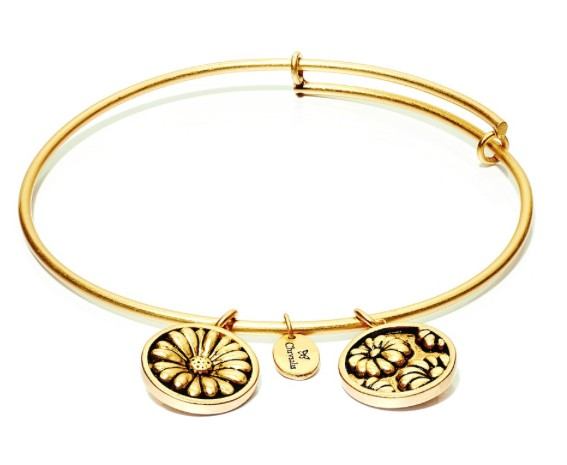 "Chrysalis ""Flourish"" April Daisy Bangle"
