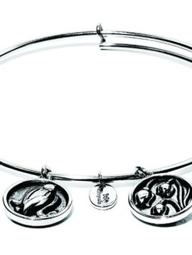 "Chrysalis ""Flourish"" May Lily of the Valley Bangle"
