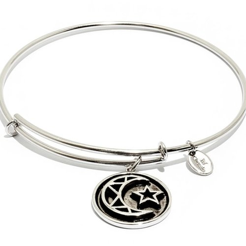 "Chrysalis ""Talisman"" Crescent Bangle"