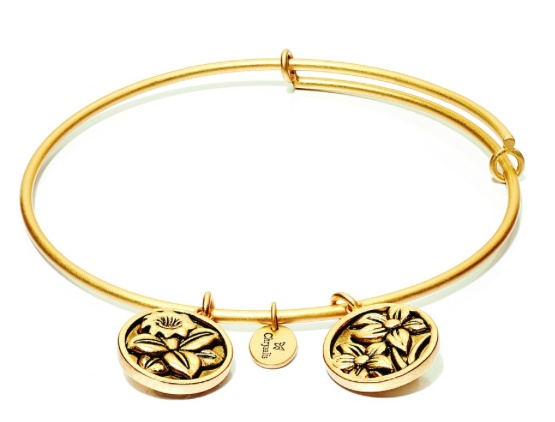 "Chrysalis ""Flourish"" December Narcissus Bangle"