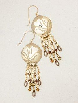 Holly Yashi Daylilly Drop Earrings