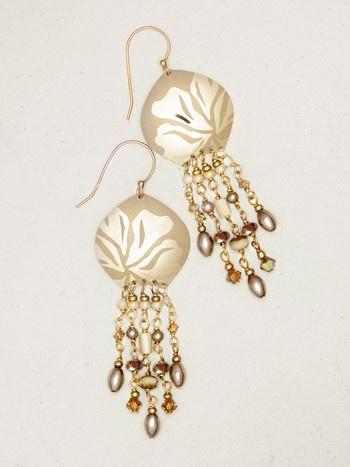 Holly Yashi Daylilly Drop Earrings