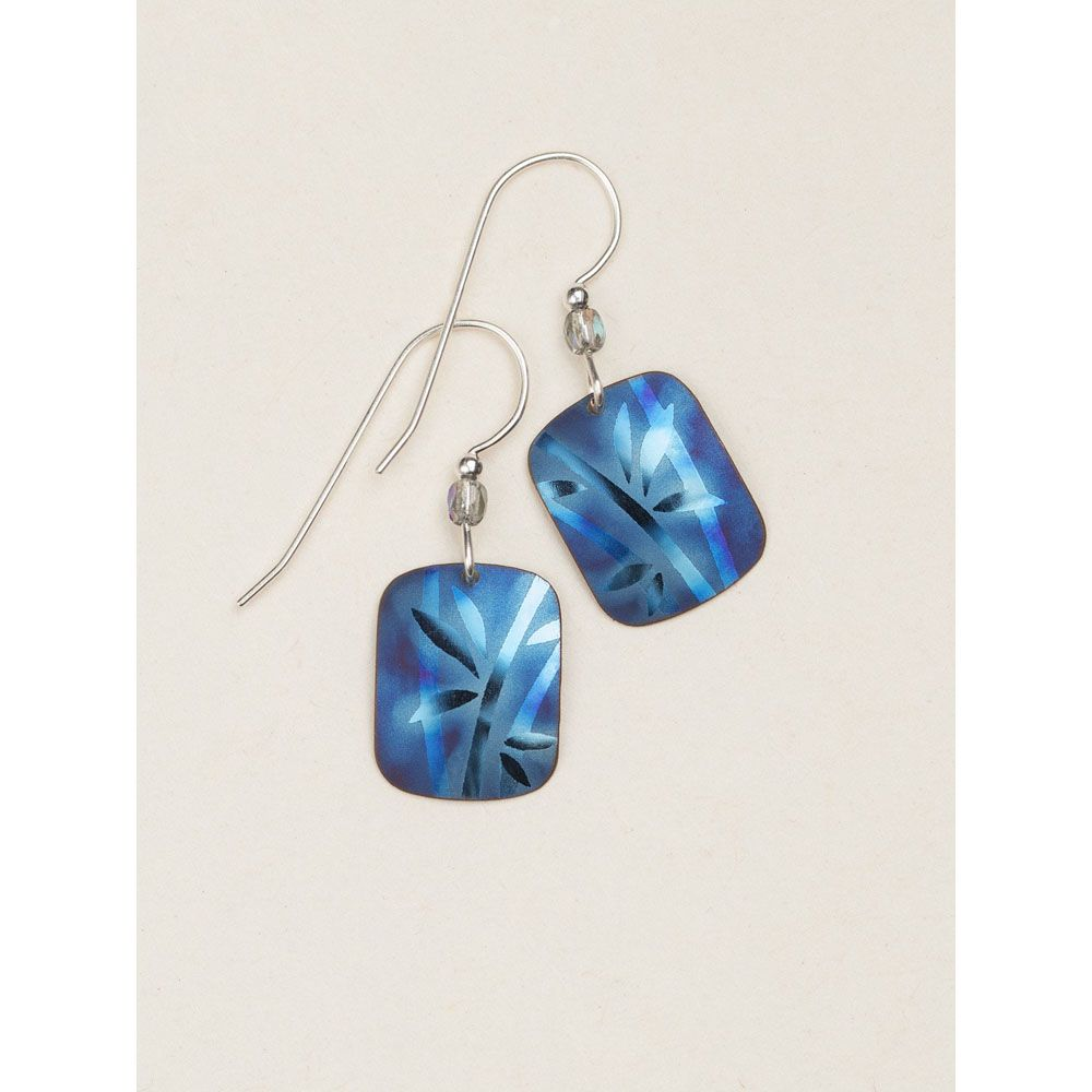 Holly Yashi Light Blue Whisper Earrings