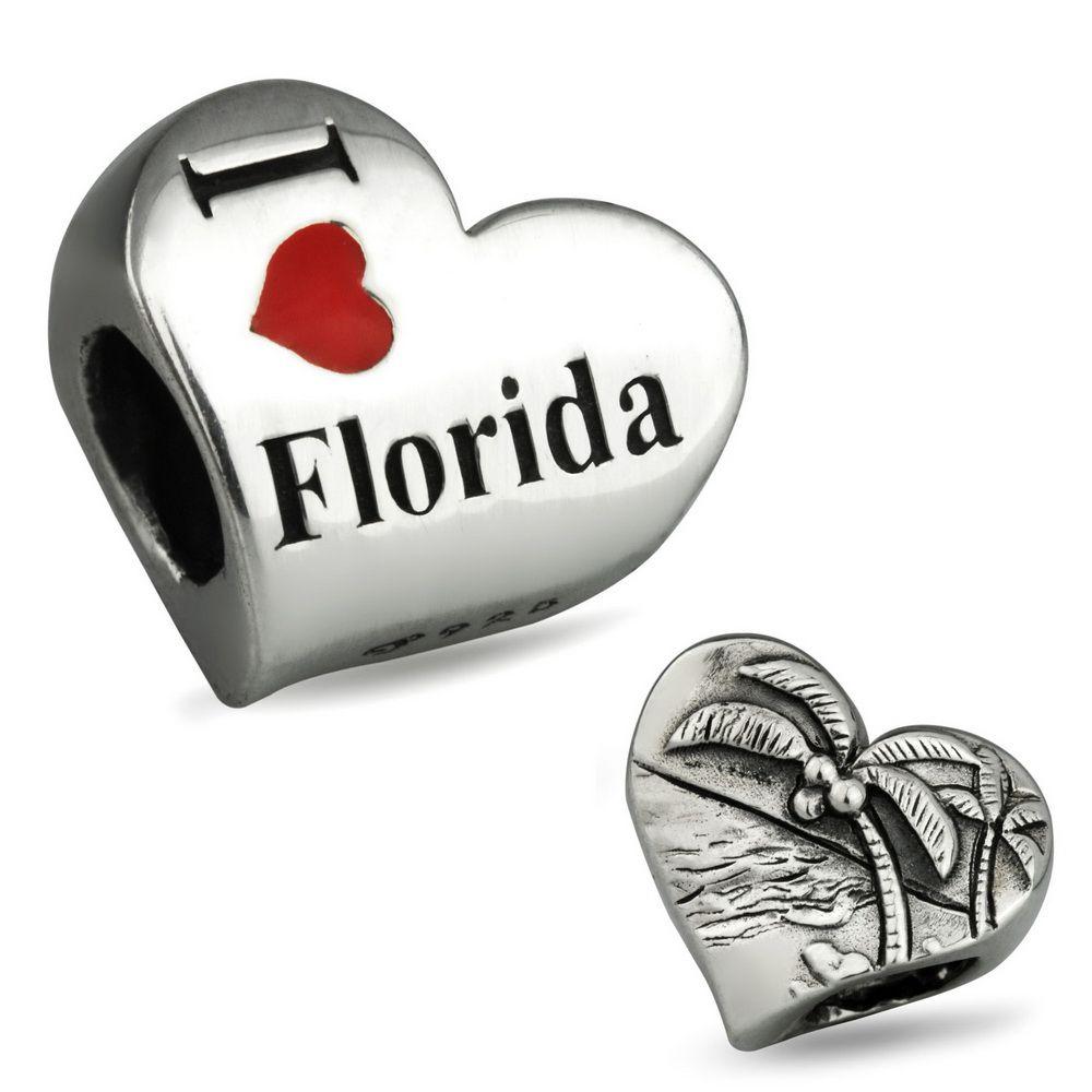 Ohm Beads I Heart Florida