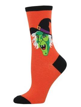 Socksmith Cackling Witch Socks