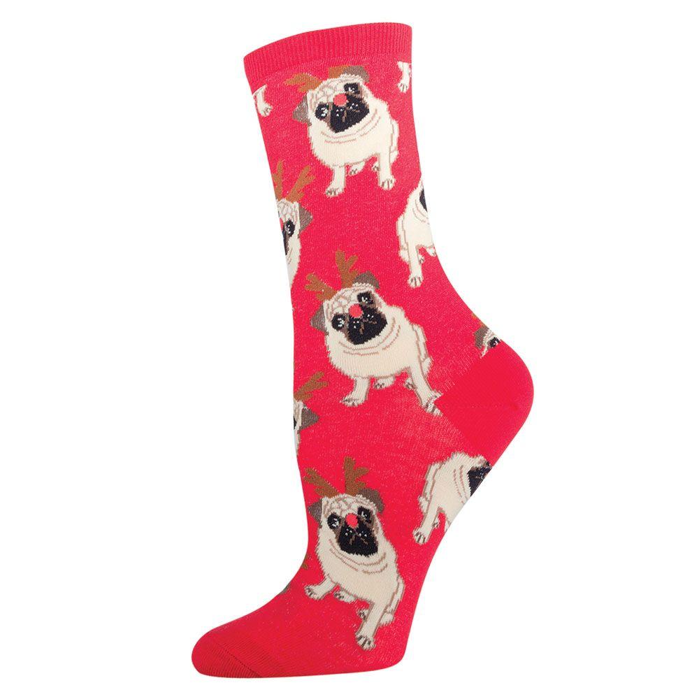Socksmith Antler Pug Socks