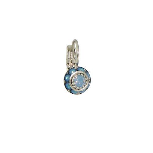 Baked Beads Tiny Crystal Earrings