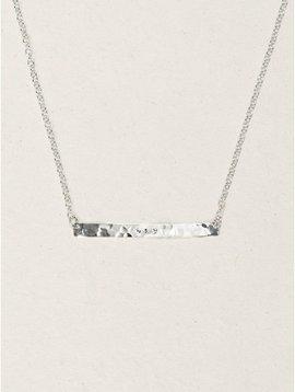 Holly Yashi Silver Skyline Necklace