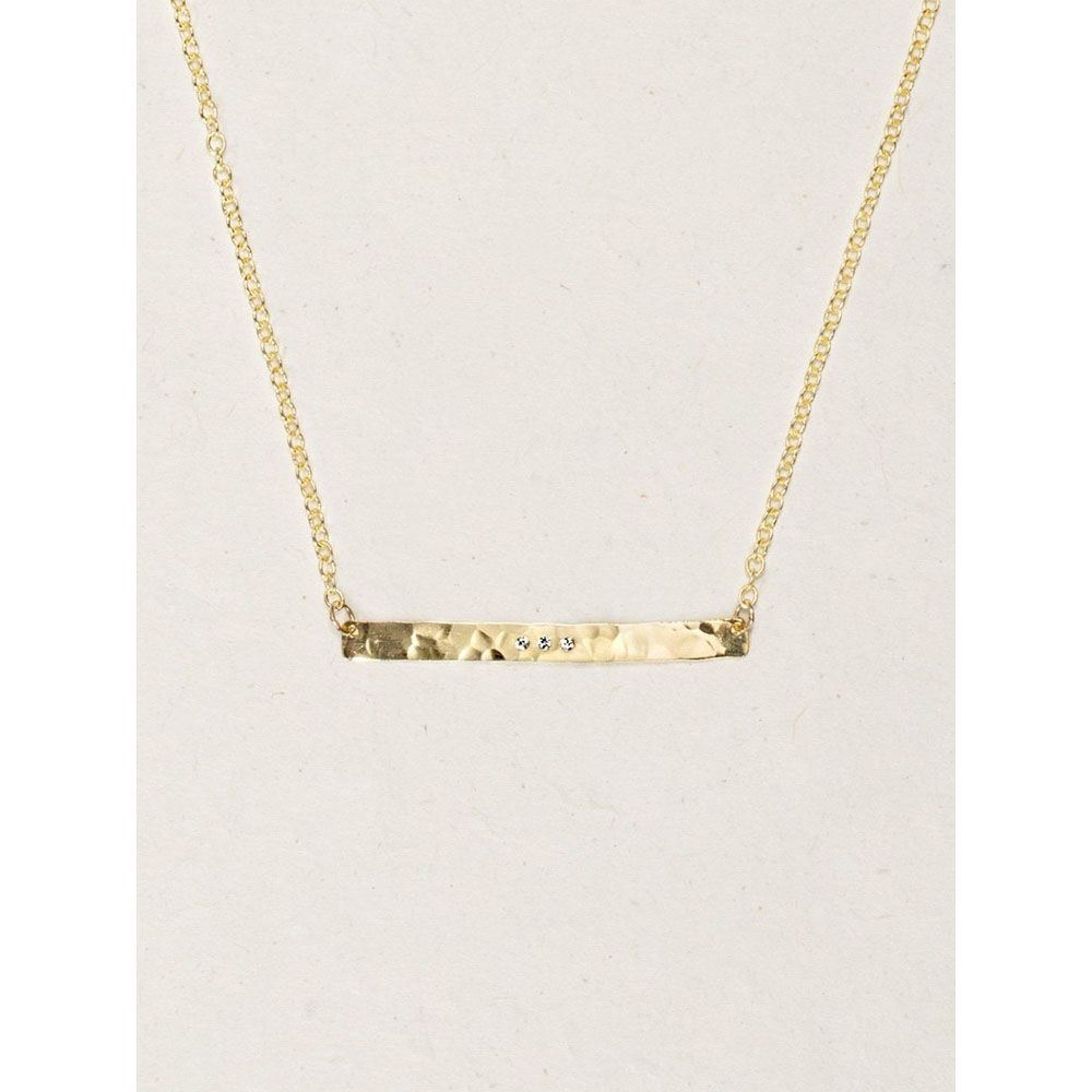 Holly Yashi Gold Skyline Necklace