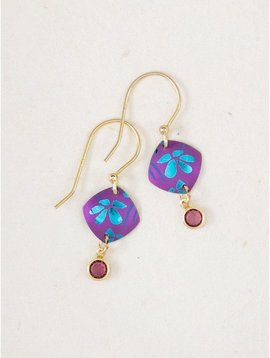 Holly Yashi Purple Elara Earrings