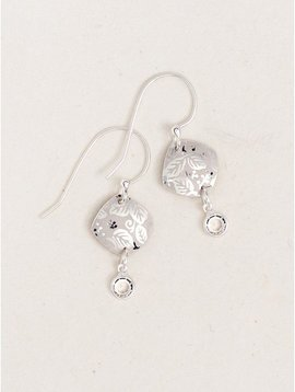 Holly Yashi Silver Leaf Earrings