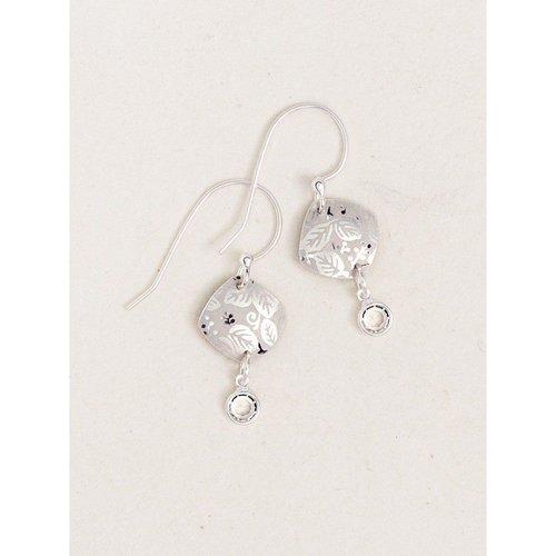Holly Yashi Silver Leaf Earrings