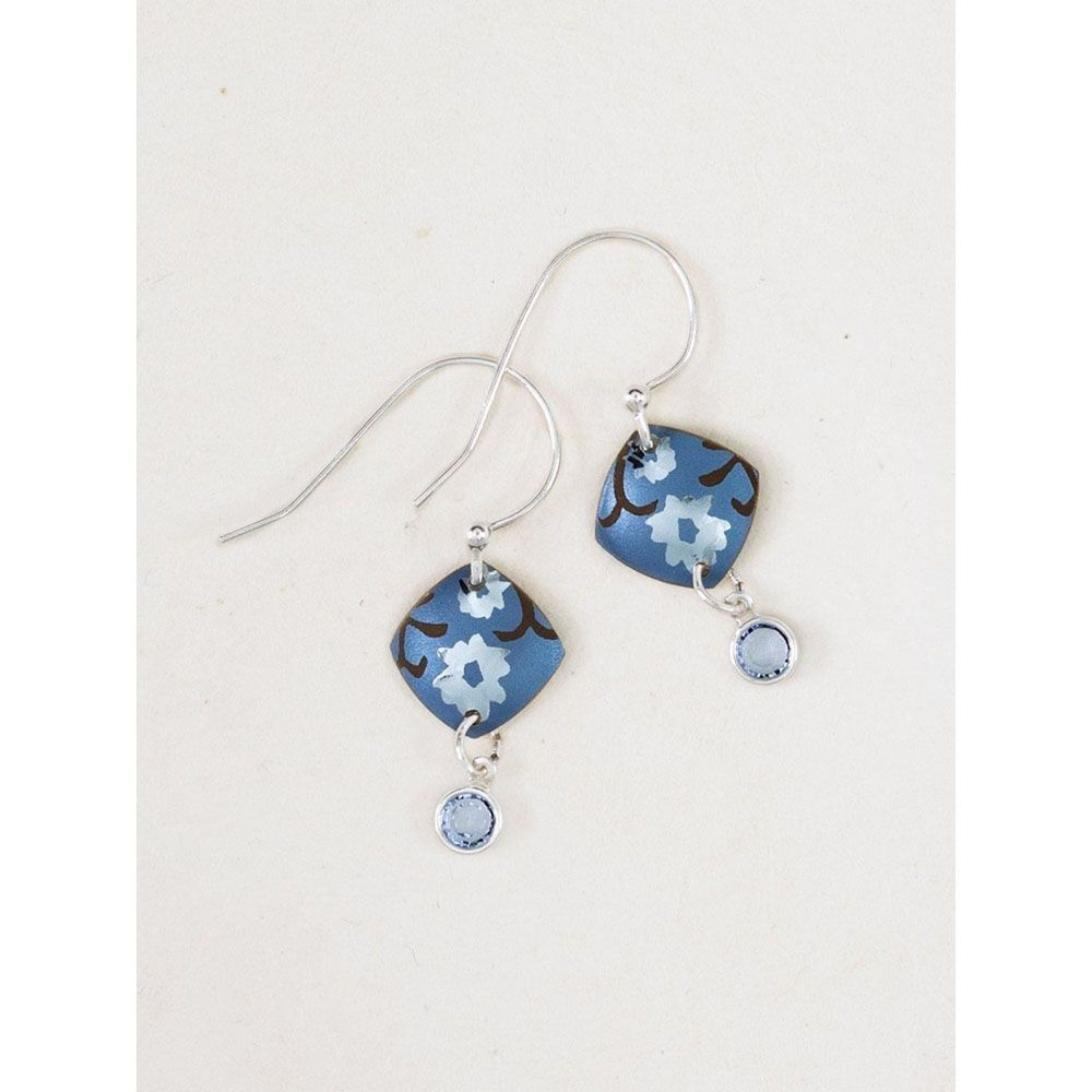Holly Yashi Blue Aurora Earrings