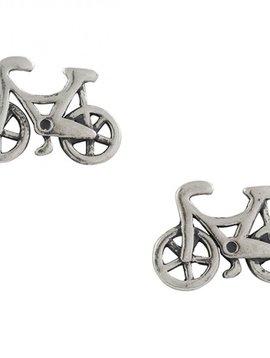 Bicycle Post Earrings