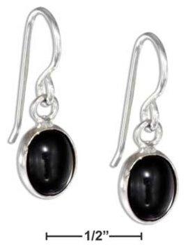 Plum Island Black Onyx Earrings