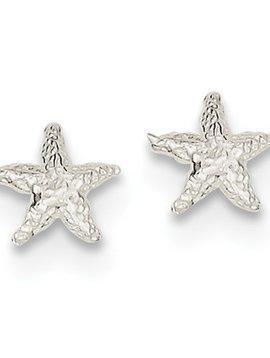 Quality Gold Mini Starfish Earrings