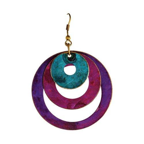 Layered Circles Earrings