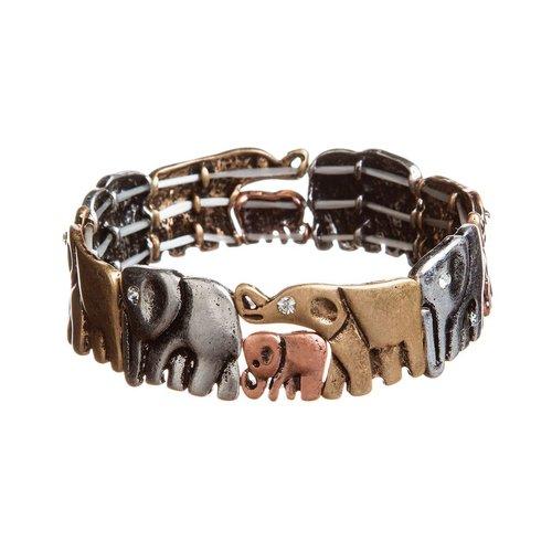 Elephant Parade Stretch Bracelet