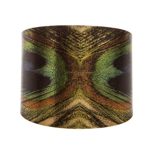 Rain Peacock Cuff Bracelet
