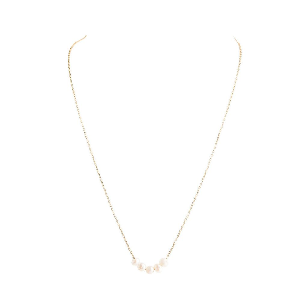 Rain Seed Pearl Necklace